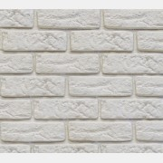 Decor Brick Off-White (сегменты со швом)