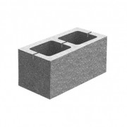 Блок декоративний гладкий (400х195х200)
