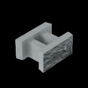 Блок декоративный несъемный опалубки (500х400х235)