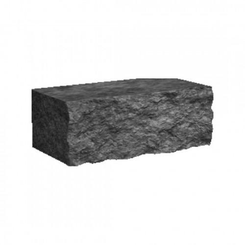 Камені декоративні для клумби М-400 (скол одна сторона і торці*) 350х175х150