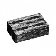 Блок малий декоративний для стовпа М-200 (двосторонній скол) 300х200х100