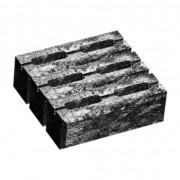 Блок малий декоративний для стовпа М-200 (двосторонній скол) 300х300х100