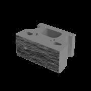 Блок МАКВОЛЛ декоративний для зміцнення схилів М-200 (односторонній скол) 457/355х303х203