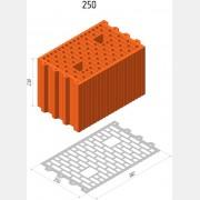 Керамический поризованный блок М100 «ТеплоКерам» 11,6 НФ м3