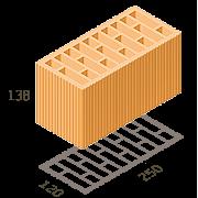 Блок «ТеплоКерам» 2,12 NF M100