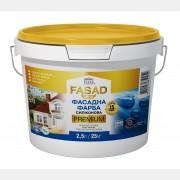 Фасадная силиконовая краска Profi Premium 2,5 л