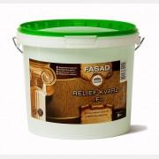Декоративное покрытие Relief Kvarz F, 8 кг