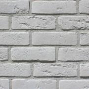 Фасадна плитка Loft Brick Бельгійський 01 Білий 240x71 мм м2