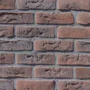 Фасадна плитка Loft Brick Бельгійський 02 Коричнево-бордовий з підпалом 240x71 мм м2