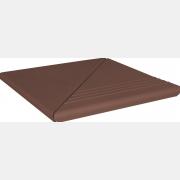 Natural brown 3 Комплект Венецианская угловая гладкая/рифленая